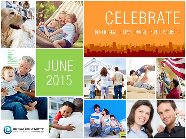Kicking Off National Homeownership Month!